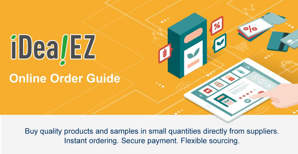 iDealEZ Online Order Guide