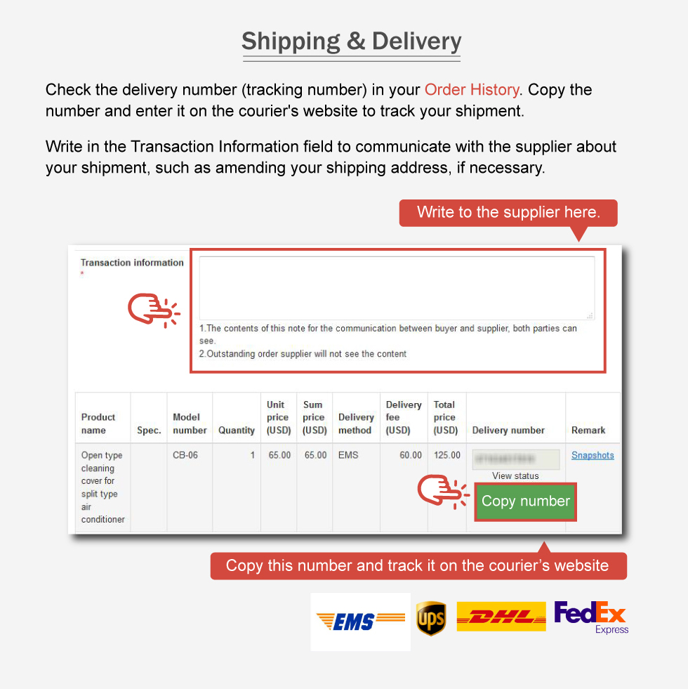 iDealEZ Shipping & Delivery